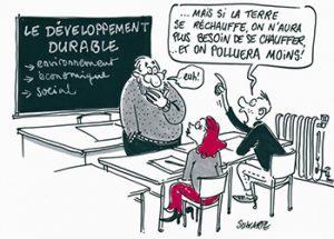 développement durable humoristique